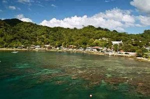 Harbor in Roatan