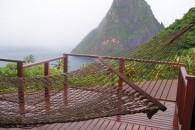 St Lucia Hamock Near Ocean