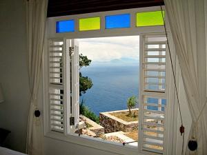 Spyglass Villa Rental, Booby Hill, Saba