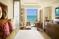 master bed view to balcony and ocean