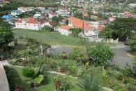 aerial neighborhood view Rodney Heights