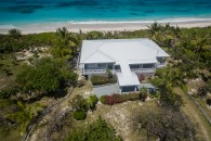 elevated beachfront home in Scotland Cay Bahamas