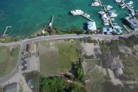 aerial view of bahama land for sale