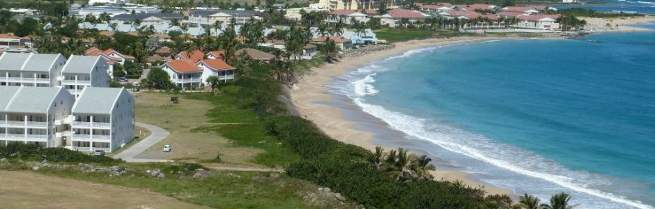 St Kitts Condo aerial view