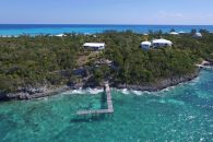 Great Guana Cay Cottage Aerial