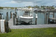 Boat dock and lift 2416