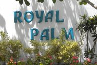 Sign Royal Palm