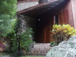 St Lucia Home Entrance