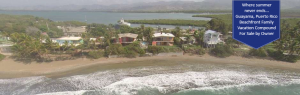West coast Puerto Rico waterfront vacation homes