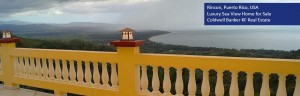Puerto Rico property for sale with ocean views