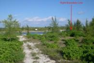 Lot4-8 right boundary line