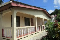 3 Apartment Home in Castries Balcony area left