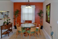 kitchen table eating area
