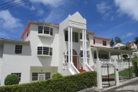 exterior of st lucia home