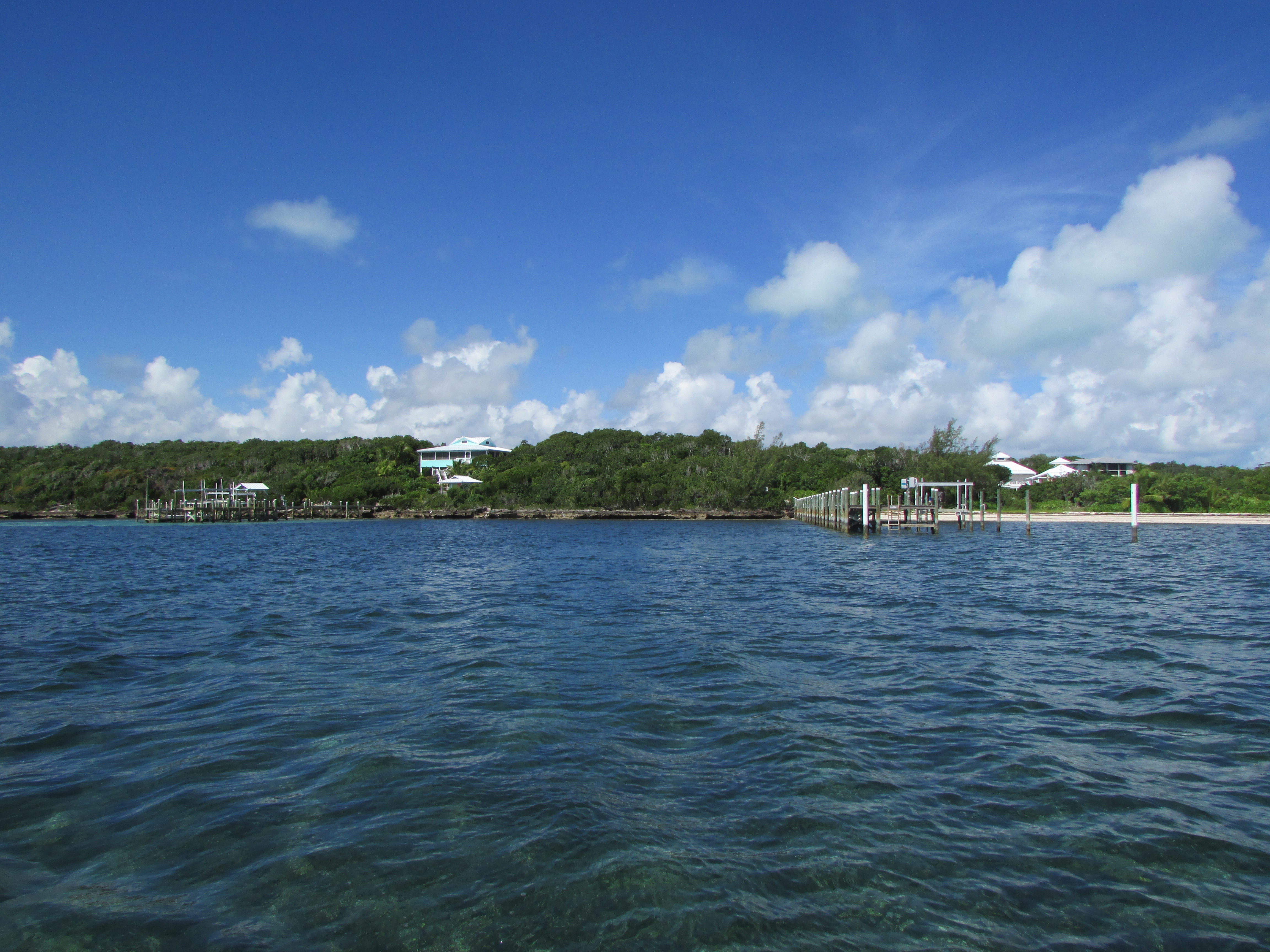 image over the water of land for sale