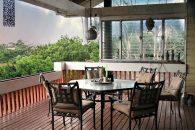 Statia Counpound house verandah
