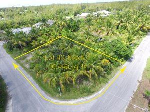 Lot 40, Block 1, Treasure Cay