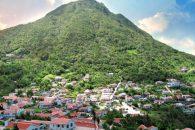 Island view Saba