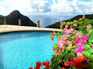 Champagne Cottage, Island of Saba