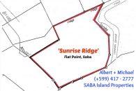 Saba Sunridge Land for sale Map 5