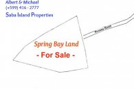 Spring Bay Land for Sale Saba Island_2