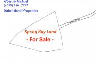 Spring Bay Land for Sale Saba Island_2