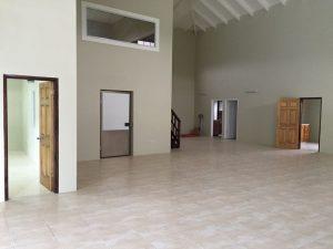 Interior entrance area of building 1
