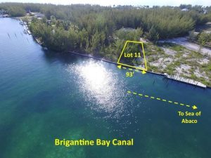 Canal Lot 11, Block 195, Treasure Cay, Abaco, Bahamas