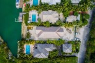 Bahamas Luxury Home aerial