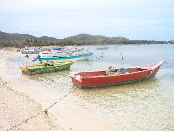 fishing boats on shore north coast of dominican republic near land for sale