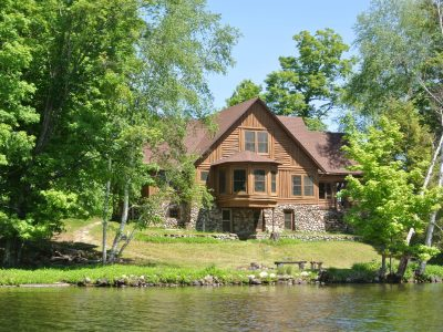Squirrel Lake Island - 8 Bed 6 Bath Wisconsin Historic Estate