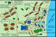 map of westin resort