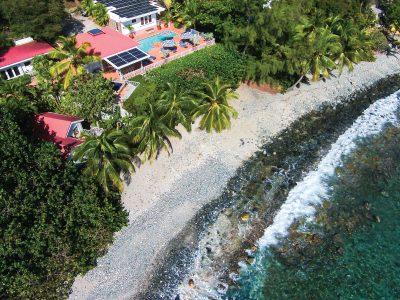 Beautiful Beachfront Villa on St. John, USVI