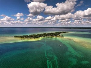 Higgins Lake Waterfront Treasure Island Michigan
